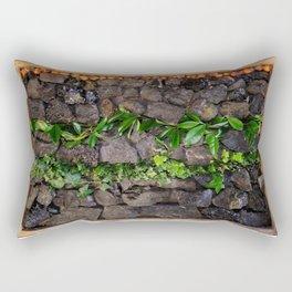 Coal and Leaves 01 Rectangular Pillow