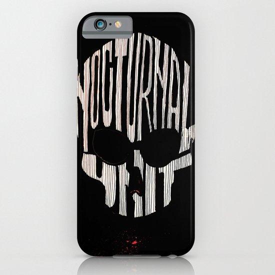 NU skull iPhone & iPod Case