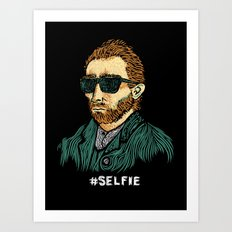 Van Gogh: Master of the #Selfie Art Print