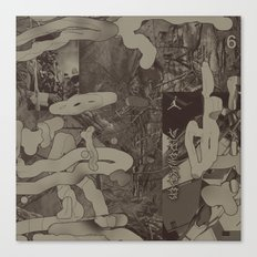 Sidewinder (A Message) Canvas Print