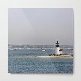 nantucket lighthouse Metal Print