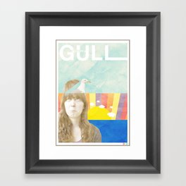 My Mind's a Gull Framed Art Print
