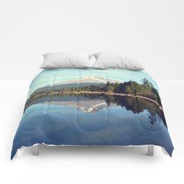 Mount Hood Trillium Lake Oregon Comforters