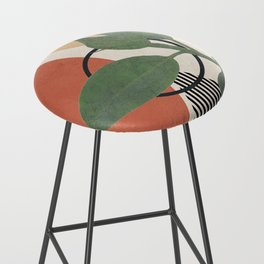 Nature Geometry III Bar Stool