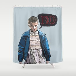 The Weirdo  Shower Curtain