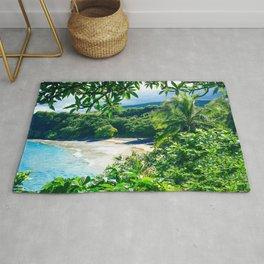 Hamoa Beach Hana Maui Hawaii Rug