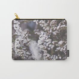 The Smallest White Flowers 01 Carry-All Pouch