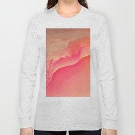 Pink Navel Long Sleeve T-shirt