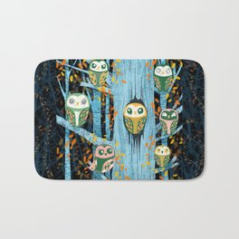 Overnight Owl Conference Bath Mat