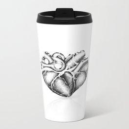 Just a heart Metal Travel Mug