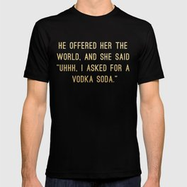 Vodka Soda T-shirt