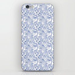 viruses and bacteria iPhone Skin