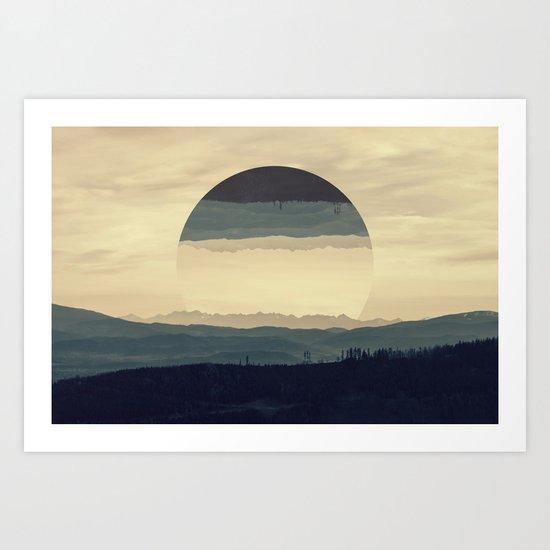 Where the eye can see Art Print