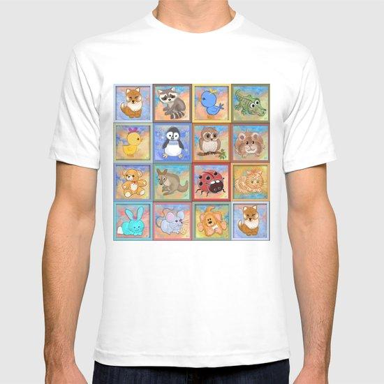 Baby animals T-shirt
