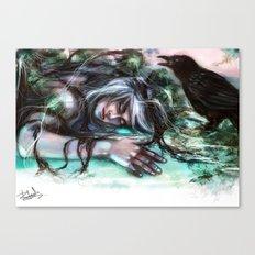 Death of an Ideal Canvas Print