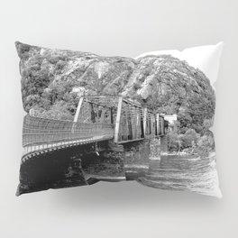Harpers Ferry Railroad Bridge Pillow Sham