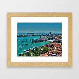 The Saint Mark Basin - Venice, Itay Framed Art Print