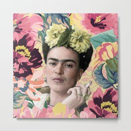 Frida Kahlo VI Metal Print