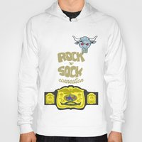 wwe Hoodies featuring Rock 'N' Sock WWE The Rock by ems23
