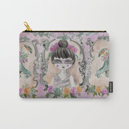 Black swan and her roller skate Carry-All Pouch