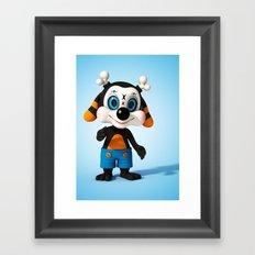 Toppolo Framed Art Print