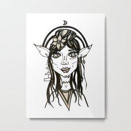 Elf Vibes Metal Print