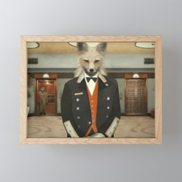 WELCOME TO OUR HOTEL Framed Mini Art Print