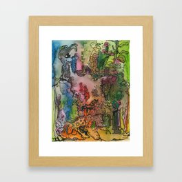 Amateur Performance Framed Art Print