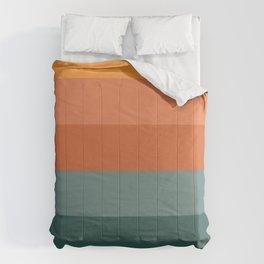 nature colour palette Comforters