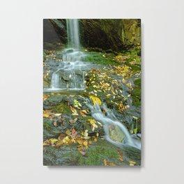 Autumn Color on Doyle's Falls Metal Print