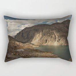 Alpine Lake in the Wind River Range of Wyoming Rectangular Pillow