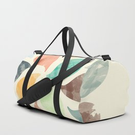 Colorful Water Drops (Watercolor version) Duffle Bag