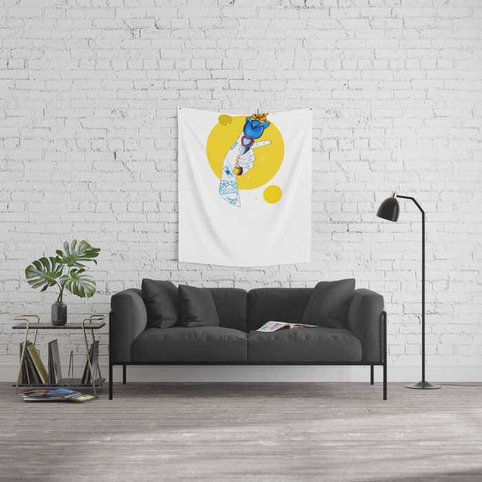 Uranus Wall Tapestry