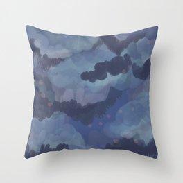 Blobster 15 Throw Pillow
