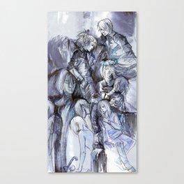 Mirror Whisper Canvas Print