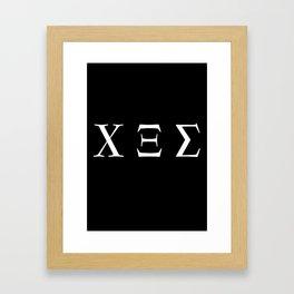 666 Framed Art Print