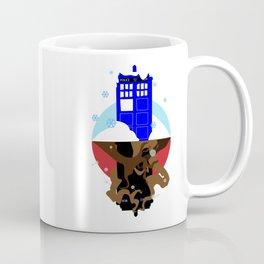 Upside Down Time Travel Coffee Mug