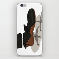 eames iPhone & iPod Skins featuring Eames by Arsed