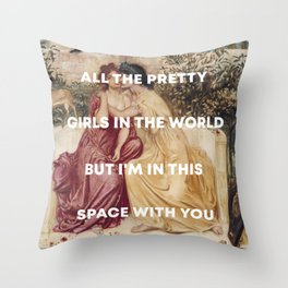 Kehlani + Sappho Throw Pillow