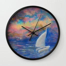 Keywest Sunset Wall Clock