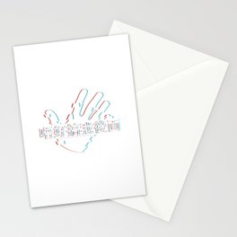 Don't Touch My Back- 唔好搞我後面 version 2 Stationery Cards