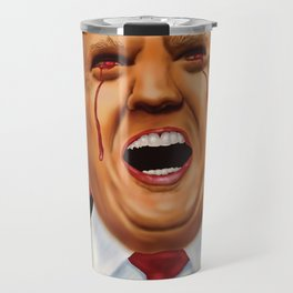 """Blind"" Trump Travel Mug"
