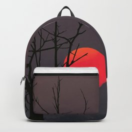 African Sunset by Chris Ellis Backpack
