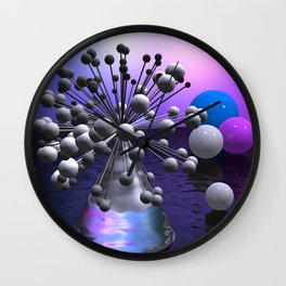 the other bouquet Wall Clock