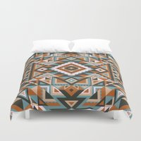 native Duvet Covers featuring Native by nate duval