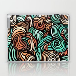 Swirl Design Laptop & iPad Skin