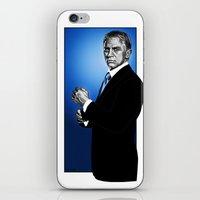 james bond iPhone & iPod Skins featuring James Bond by odysseyart