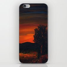 Fireflies at the Pond iPhone Skin
