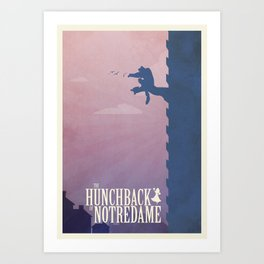 The Hunchback Art Print