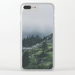 Why So Moody? Clear iPhone Case